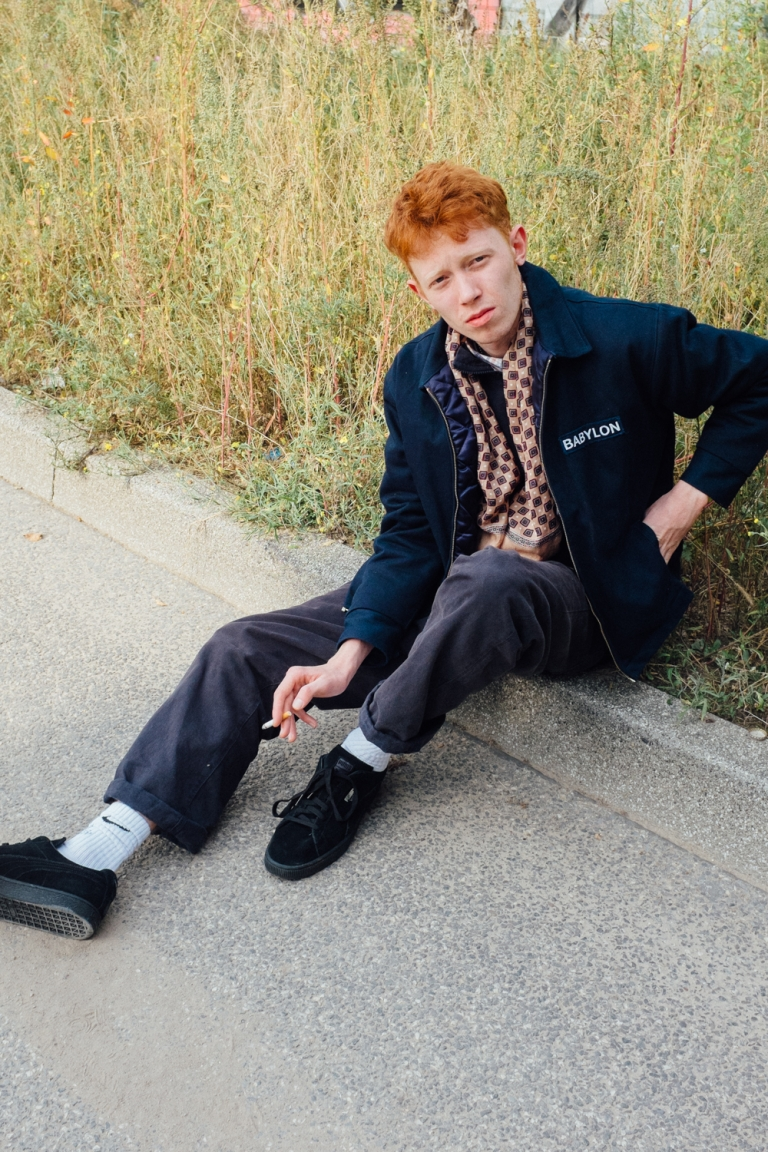 tereza mundilová King Krule for INTRO Magazine