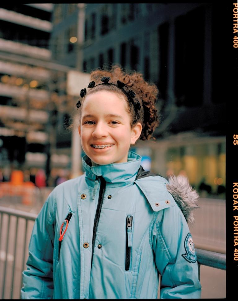 tereza mundilová Women's March New York — Material Magazine